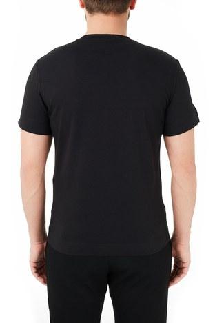 Emporio Armani - Emporio Armani Bisiklet Yaka % 100 Pamuk Erkek T Shirt 3K1TE1 1JULZ 0999 SİYAH (1)