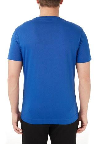 Emporio Armani - Emporio Armani Bisiklet Yaka % 100 Pamuk Erkek T Shirt 3K1TL6 1JULZ 0921 LACİVERT (1)