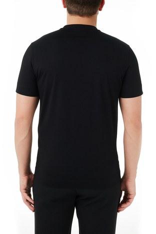 Emporio Armani - Emporio Armani Bisiklet Yaka % 100 Pamuk Erkek T Shirt 3K1TM1 1JDXZ 0999 SİYAH (1)