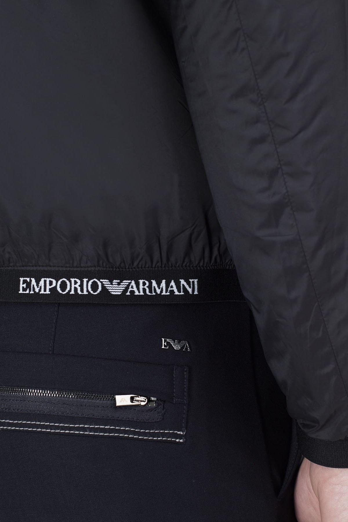 Emporio Armani Çift Taraflı Erkek Mont S 6G1B97 1NUNZ F545 HAKİ