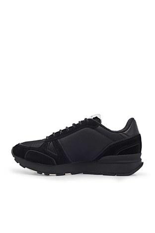 Emporio Armani - Emporio Armani Deri Spor Erkek Ayakkabı X4X542 XM707 N512 SİYAH (1)