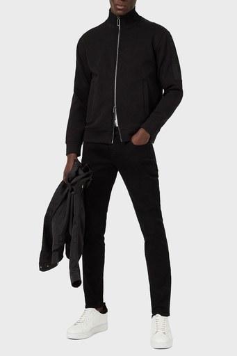 Emporio Armani Düşük Bel Extra Slim Fit J11 Jeans Erkek Kot Pantolon 3K1J11 1DHDZ 0005 SİYAH