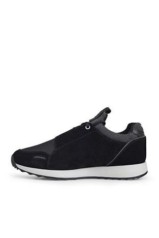 Emporio Armani - Emporio Armani Erkek Ayakkabı S X4X241 XL690 M997 SİYAH (1)