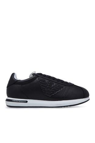 Emporio Armani - Emporio Armani Erkek Ayakkabı S X4X260 XL709 K003 SİYAH