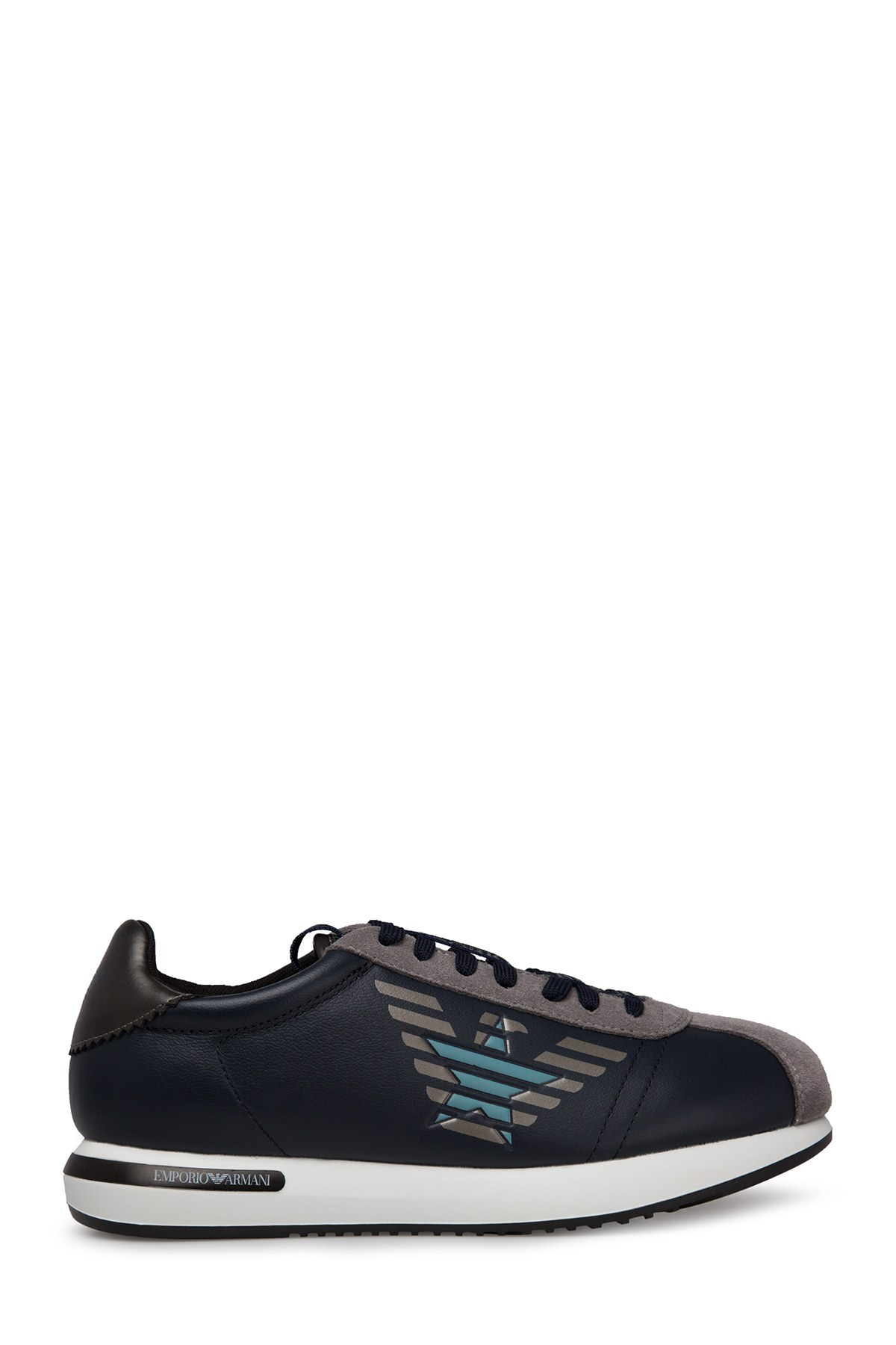 Emporio Armani Erkek Ayakkabı S X4X260 XM050 A823 LACİVERT