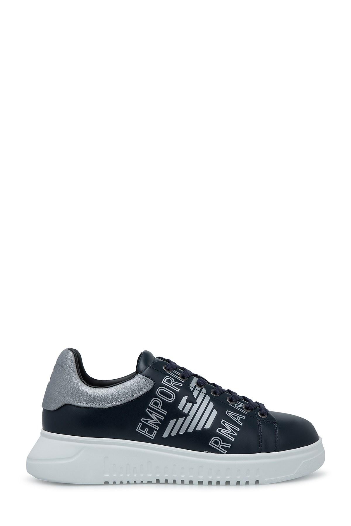 Emporio Armani Erkek Ayakkabı S X4X264 XM041 B945 LACİVERT