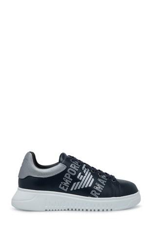 Emporio Armani - Emporio Armani Erkek Ayakkabı S X4X264 XM041 B945 LACİVERT