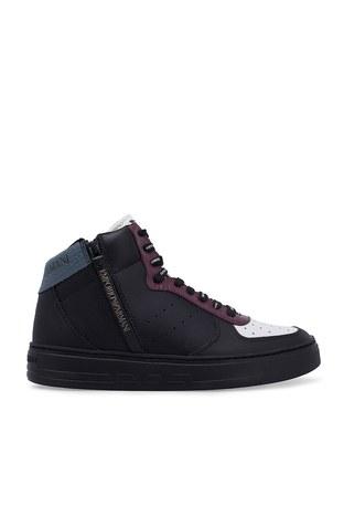 Emporio Armani - Emporio Armani Erkek Ayakkabı S X4Z083 XM052 A116 SİYAH