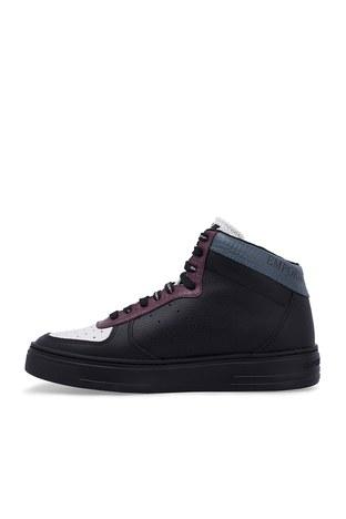 Emporio Armani - Emporio Armani Erkek Ayakkabı S X4Z083 XM052 A116 SİYAH (1)