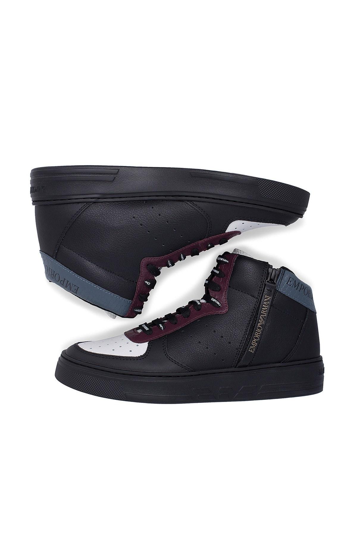 Emporio Armani Erkek Ayakkabı S X4Z083 XM052 A116 SİYAH