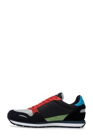 Emporio Armani - Emporio Armani Erkek Ayakkabı X4X215 XL200 A678 LACİVERT-KIRMIZI (1)