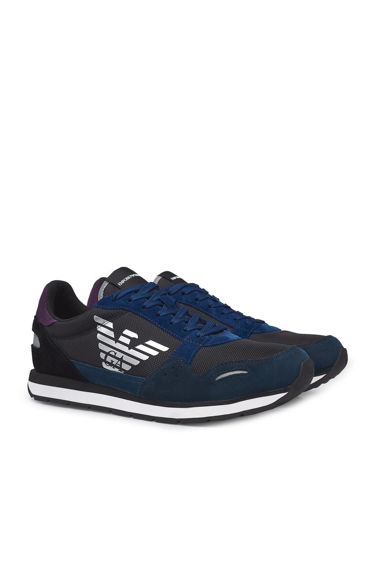 Emporio Armani Erkek Ayakkabı X4X215 XL200 N061 LACİVERT