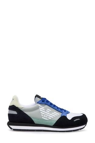 Emporio Armani - Emporio Armani Erkek Ayakkabı X4X215 XL200 R873 LACİVERT-SAKS