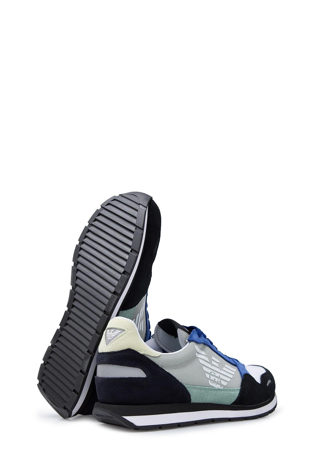 Emporio Armani Erkek Ayakkabı X4X215 XL200 R873 LACİVERT-SAKS