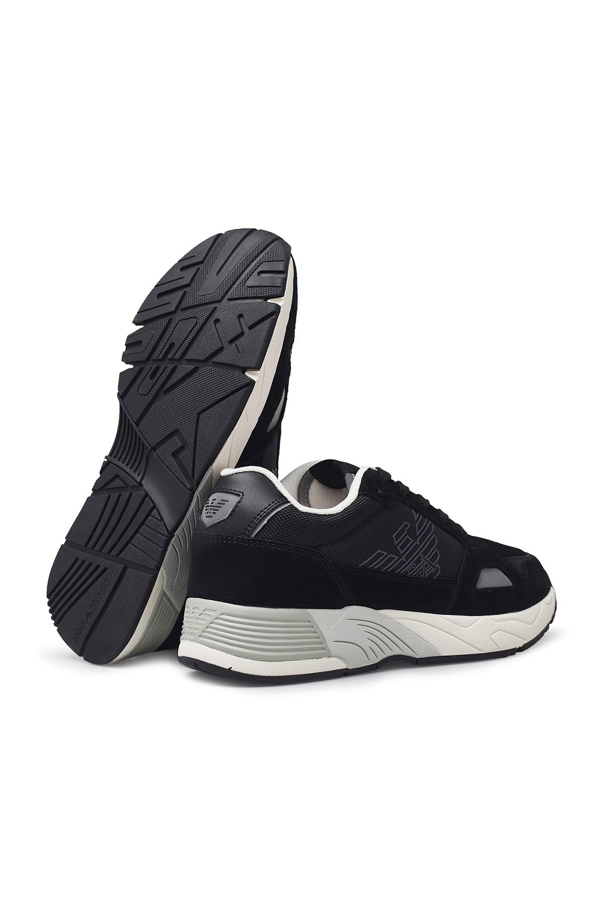 Emporio Armani Erkek Ayakkabı X4X245 XL697 B461 SİYAH