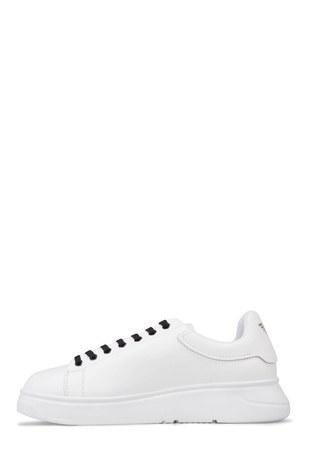 Emporio Armani - Emporio Armani Erkek Ayakkabı X4X264 XL773 D611 BEYAZ (1)