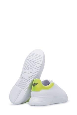 Emporio Armani Erkek Ayakkabı X4X264 XM228 A133 BEYAZ