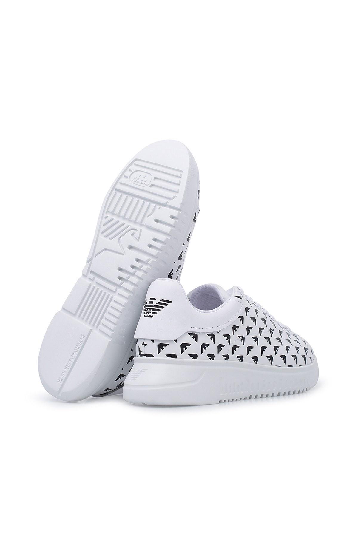 Emporio Armani Erkek Ayakkabı X4X264 XM235 C917 BEYAZ