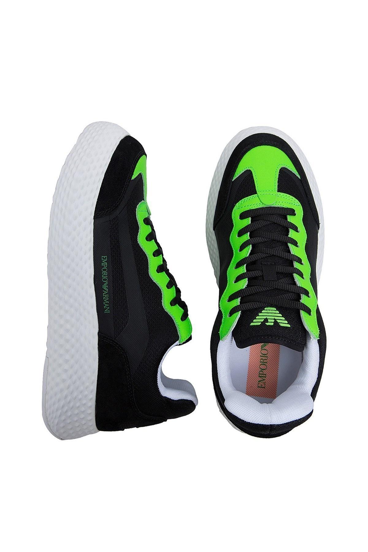 Emporio Armani Erkek Ayakkabı X4X269 XM234 L004 SİYAH