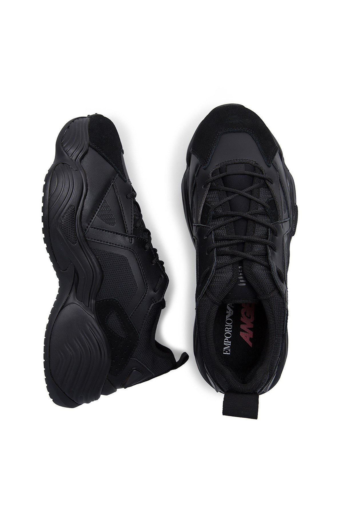 Emporio Armani Erkek Ayakkabı X4X286 XM072 R122 SİYAH