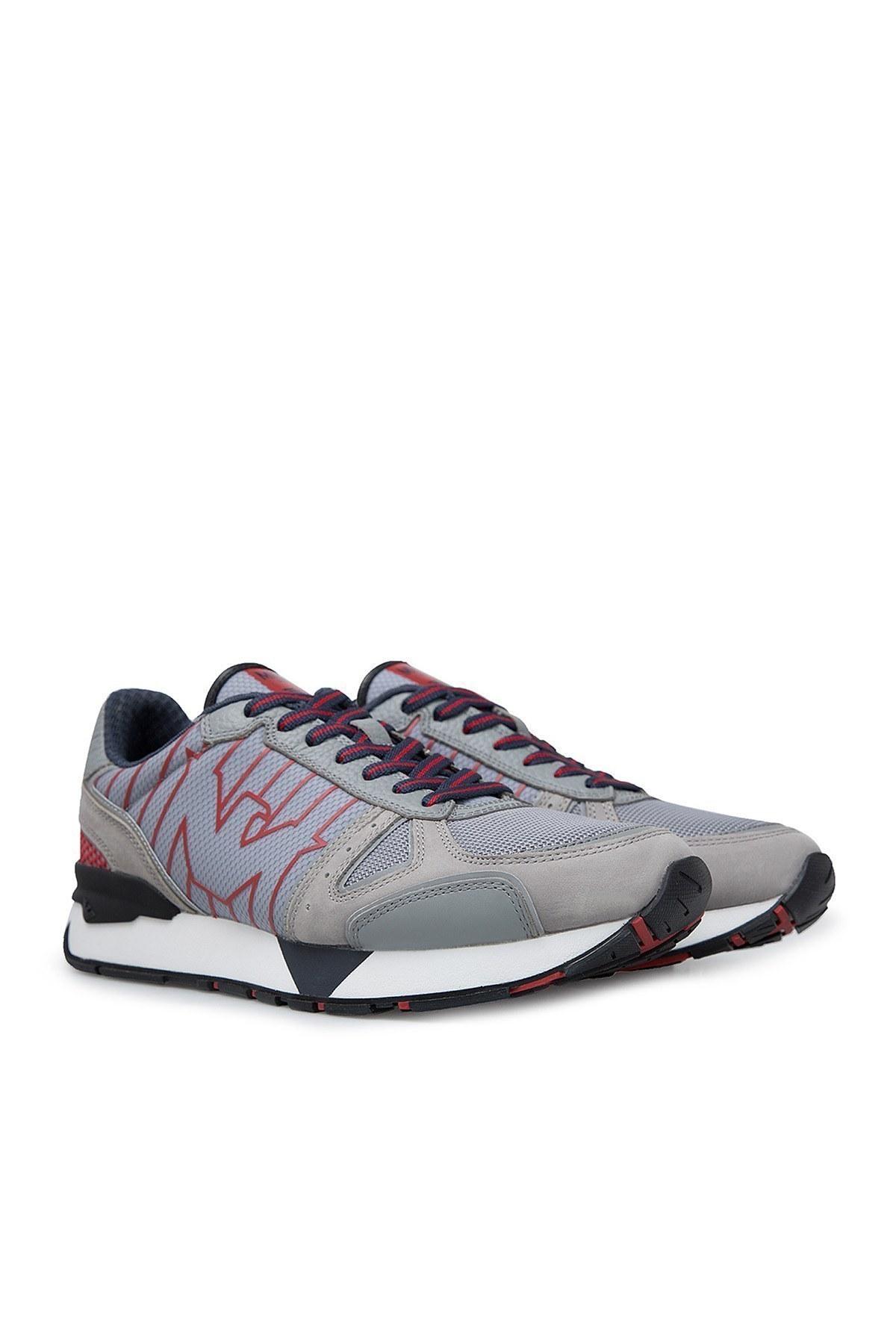 Emporio Armani Erkek Ayakkabı X4X289 XM232 K086 GRİ