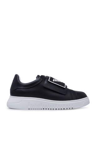 Emporio Armani - Emporio Armani Erkek Ayakkabı X4X300 XM320 A792 SİYAH