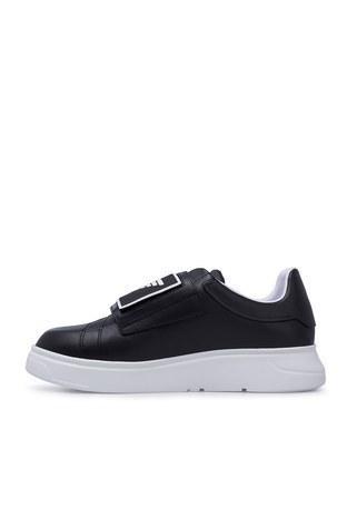 Emporio Armani - Emporio Armani Erkek Ayakkabı X4X300 XM320 A792 SİYAH (1)