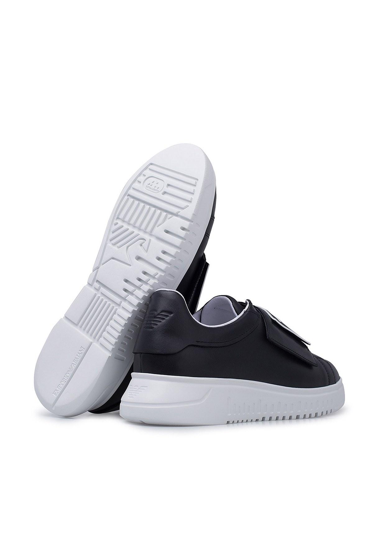 Emporio Armani Erkek Ayakkabı X4X300 XM320 A792 SİYAH