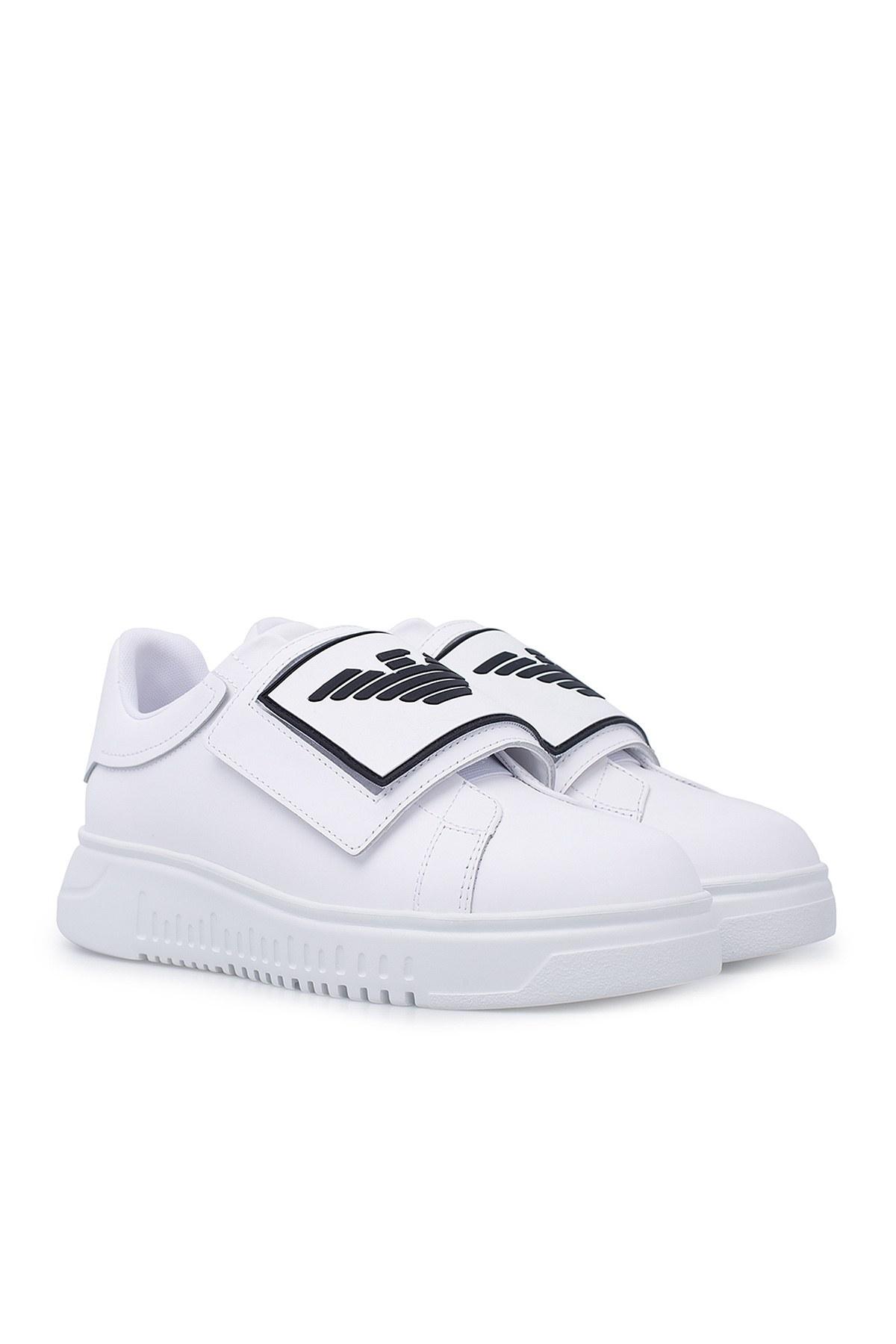 Emporio Armani Erkek Ayakkabı X4X300 XM320 D234 BEYAZ