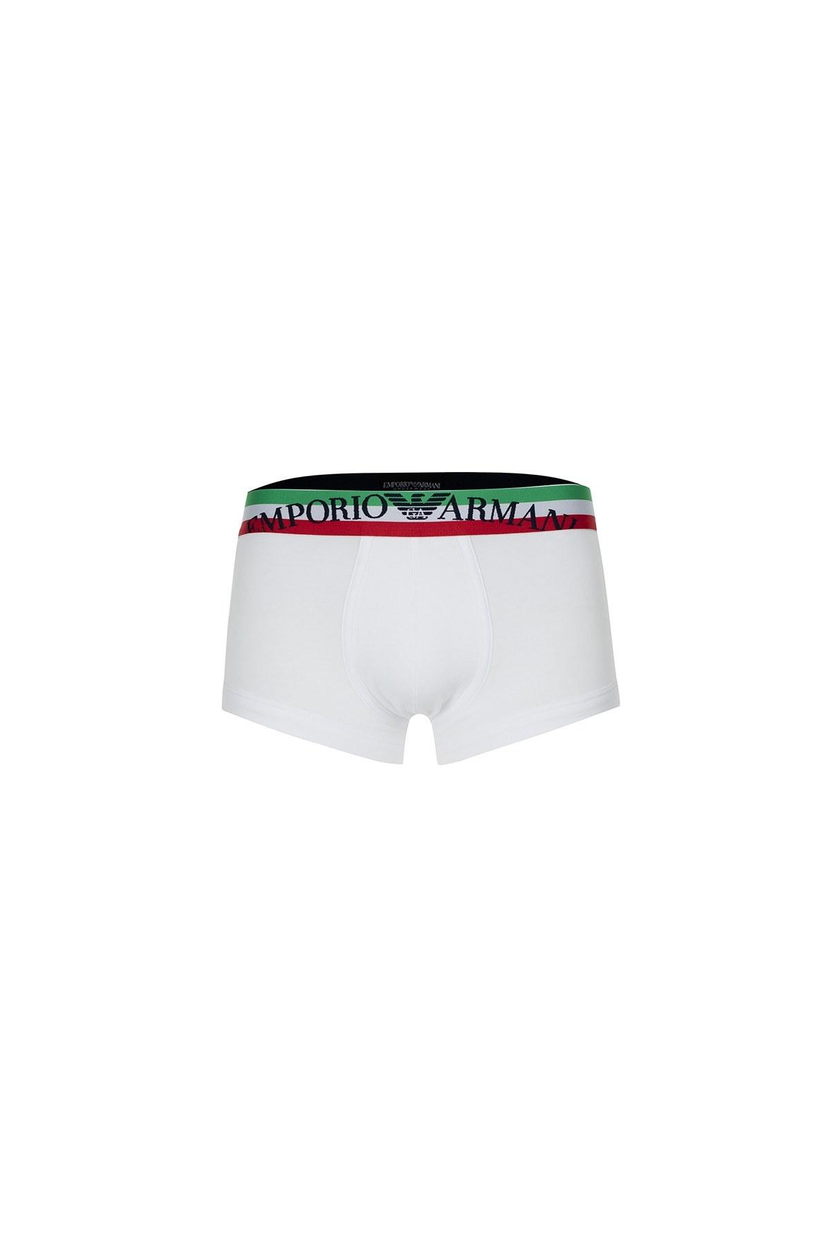 Emporio Armani Erkek Boxer 111866 0P510 00010 BEYAZ