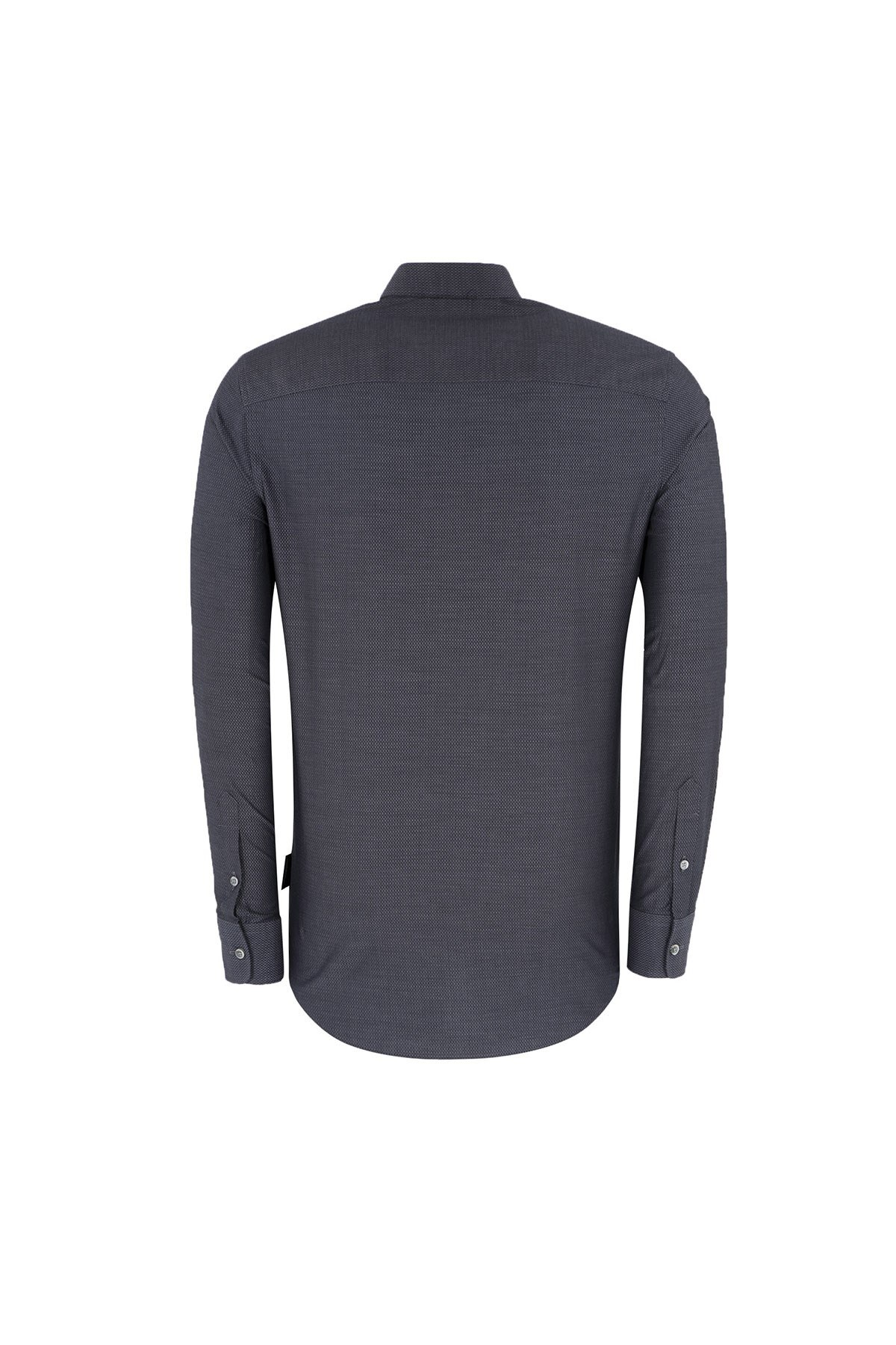 EMPORIO ARMANI Erkek Gömlek 11SMRL 115F0 042 ANTRASİT