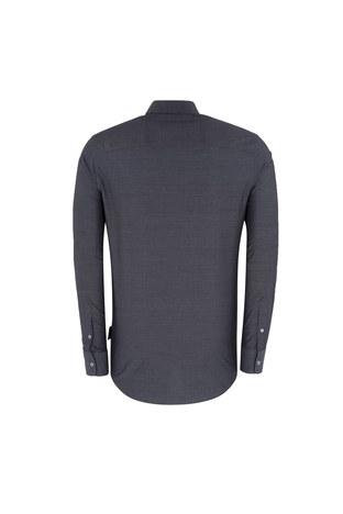 Emporio Armani - EMPORIO ARMANI Erkek Gömlek 11SMRL 115F0 042 ANTRASİT (1)