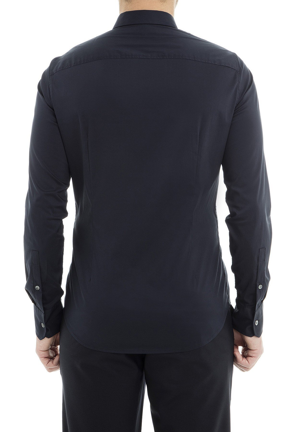 Emporio Armani Erkek Gömlek 3G1CL4 1NHUZ 0920 LACİVERT
