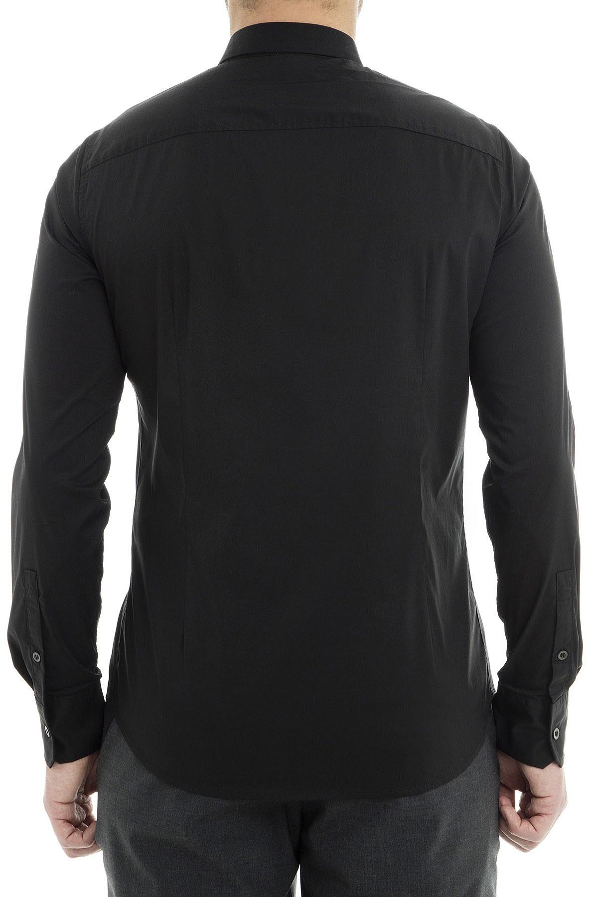 Emporio Armani Erkek Gömlek 3G1CL4 1NHUZ 0999 SİYAH