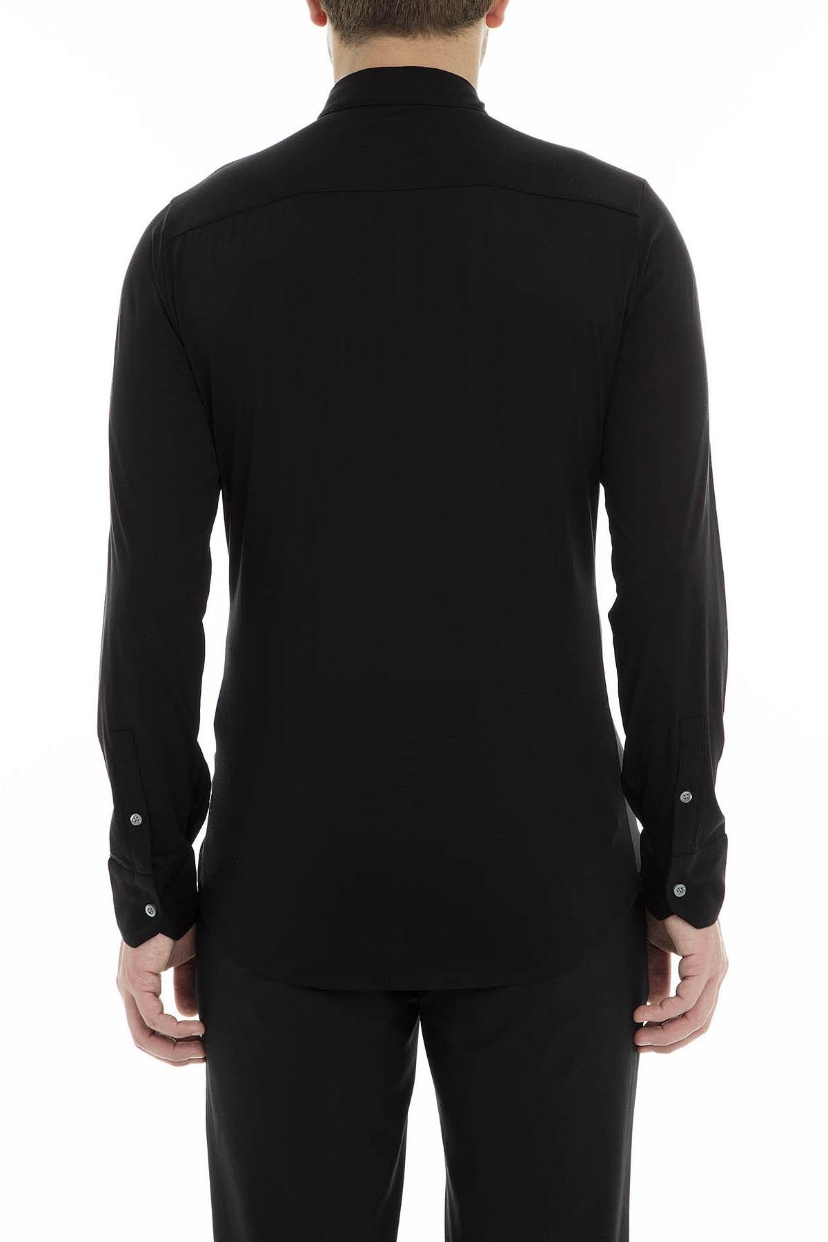 Emporio Armani Erkek Gömlek 3G1CL5 1JQXZ 0999 SİYAH
