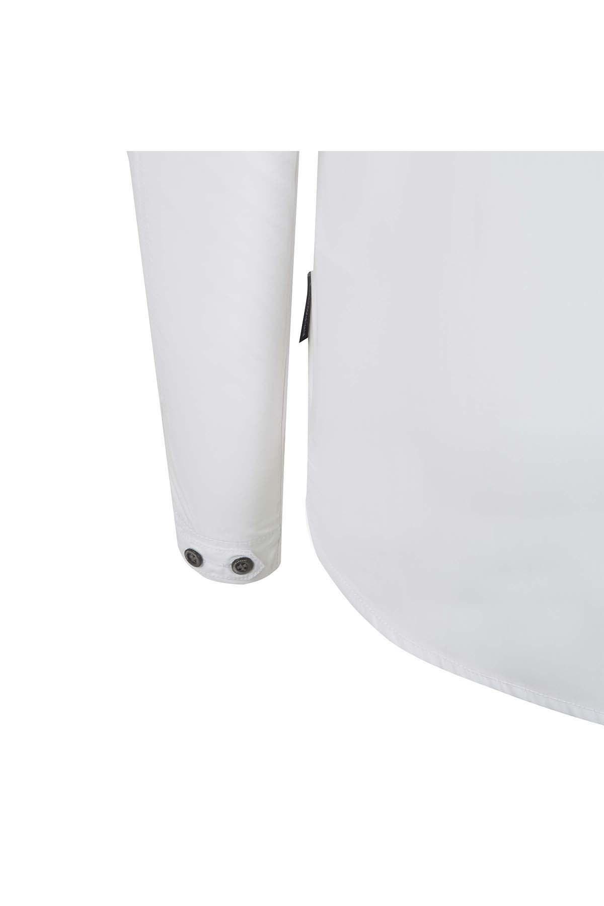 EMPORIO ARMANI Erkek Gömlek 3Z1C61 1NSCZ0 100 BEYAZ