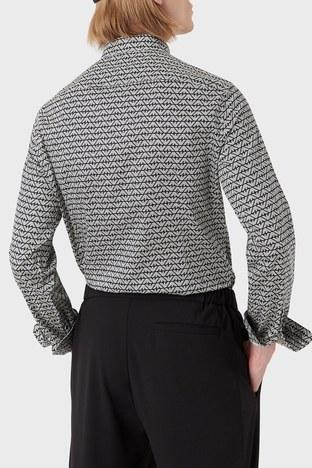 Emporio Armani - Emporio Armani Erkek Gömlek 6K1C65 1NZJZ F014 SİYAH (1)