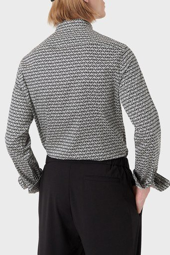 Emporio Armani Erkek Gömlek 6K1C65 1NZJZ F014 SİYAH
