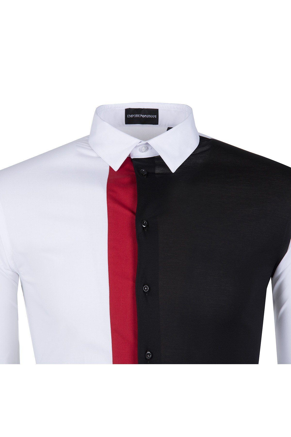 EMPORIO ARMANI Erkek Gömlek W1C32T W115C BEYAZ