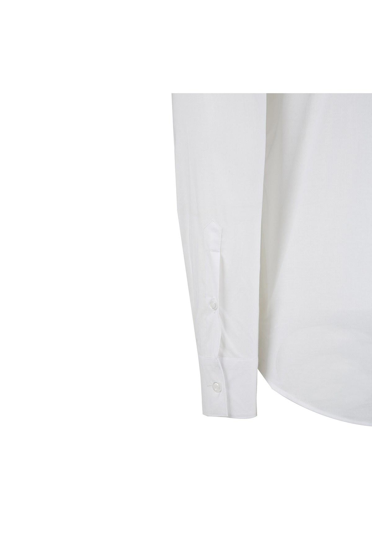 EMPORIO ARMANI Erkek Gömlek W1CC2T W134C 102 BEYAZ