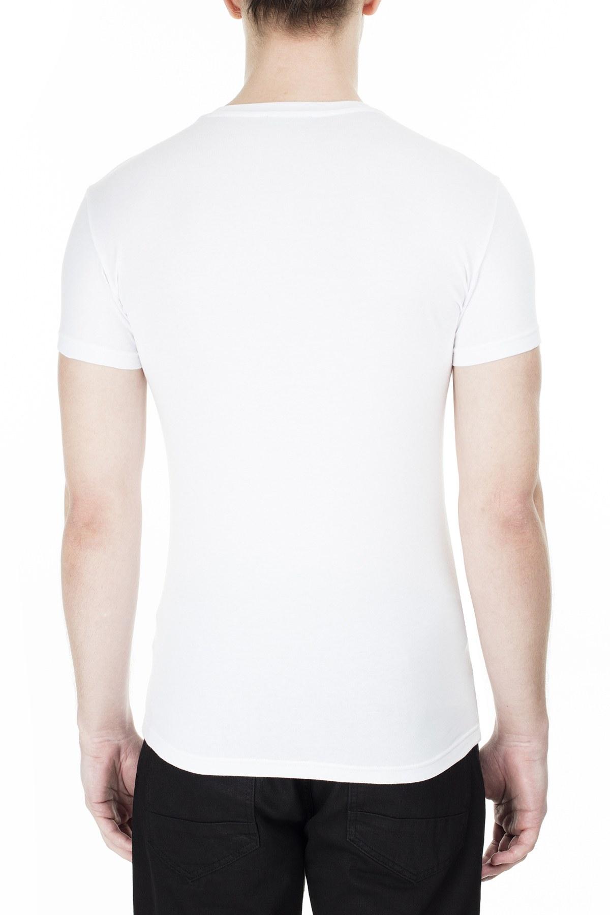 Emporio Armani Erkek T Shirt 111035 0P516 00010 BEYAZ