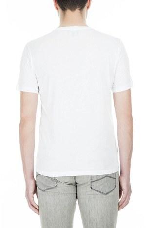 Emporio Armani - Emporio Armani Erkek T Shirt 3G1T6P 1JQ4Z 0100 BEYAZ (1)