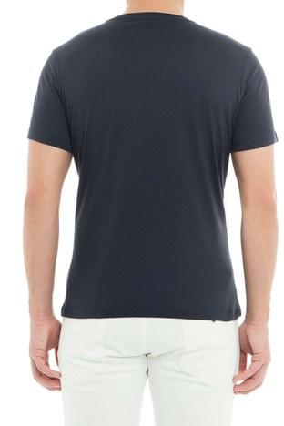 Emporio Armani - Emporio Armani Erkek T Shirt 3G1T6W 1JQ4Z 0922 LACİVERT (1)