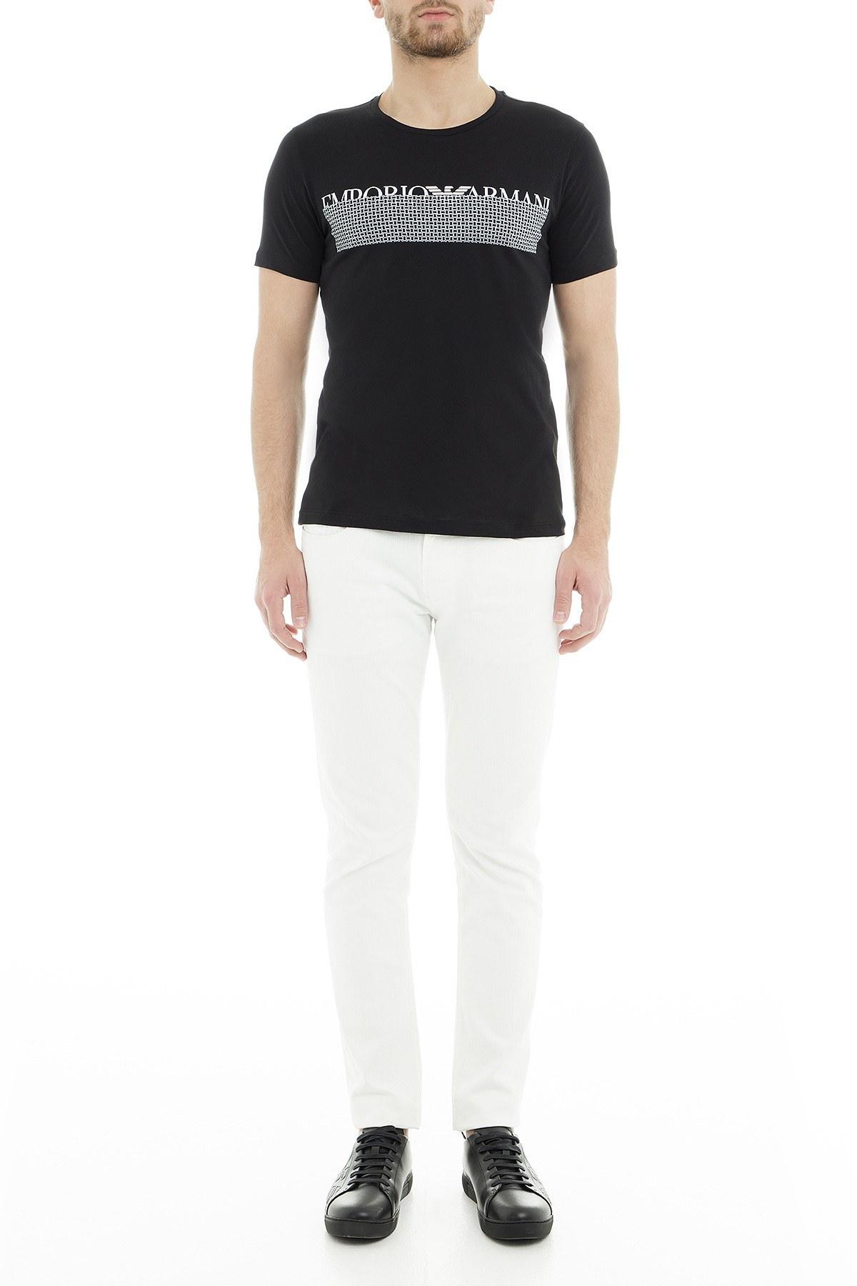 Emporio Armani Erkek T Shirt 3G1T6W 1JQ4Z 0999 SİYAH