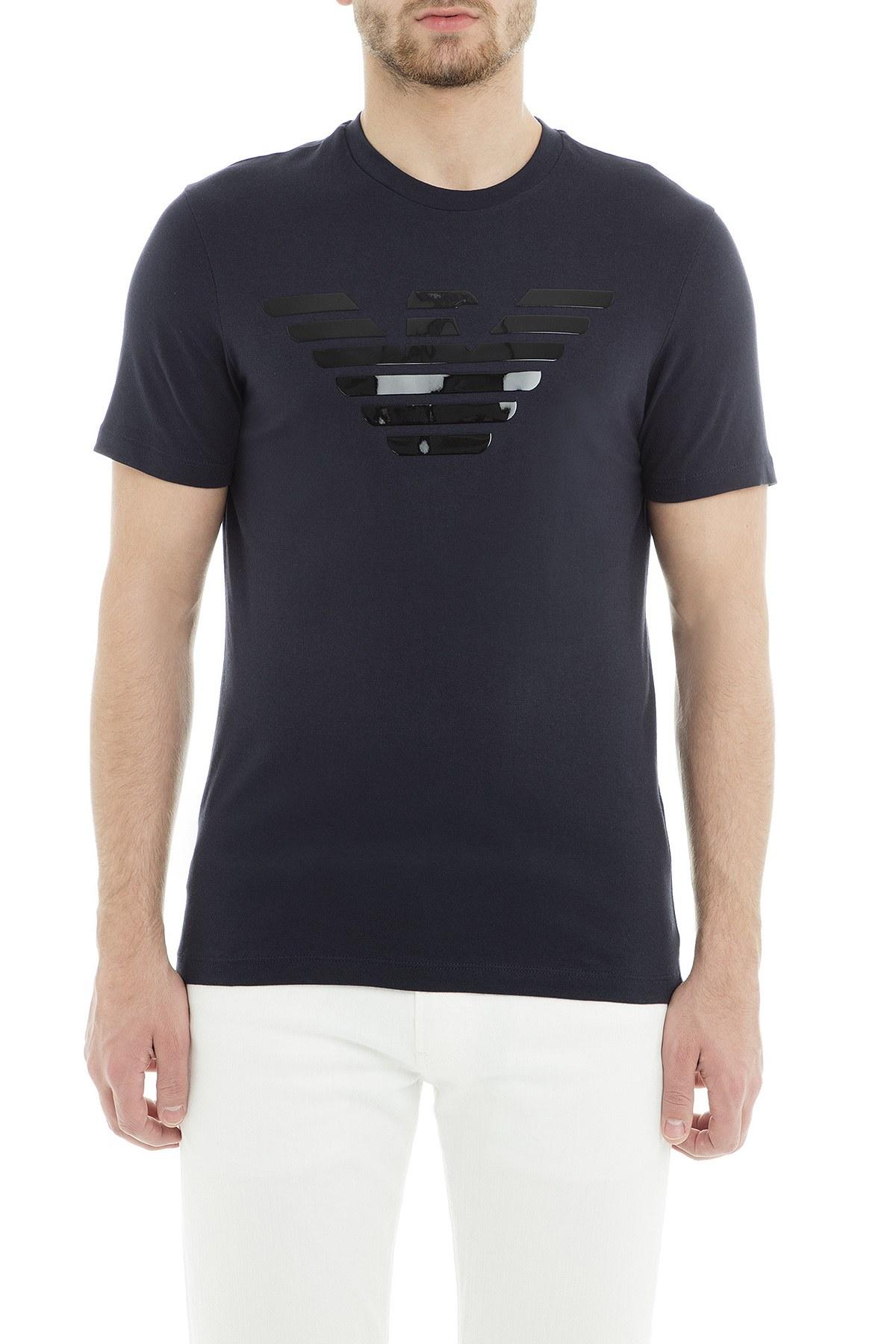 Emporio Armani Erkek T Shirt 3G1T92 1J00Z 0924 LACİVERT
