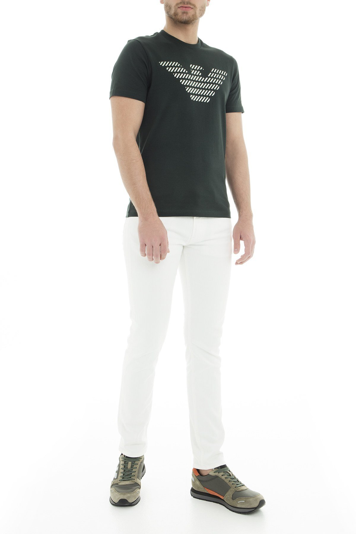 Emporio Armani Erkek T Shirt 3G1T94 1J30Z 0537 HAKİ