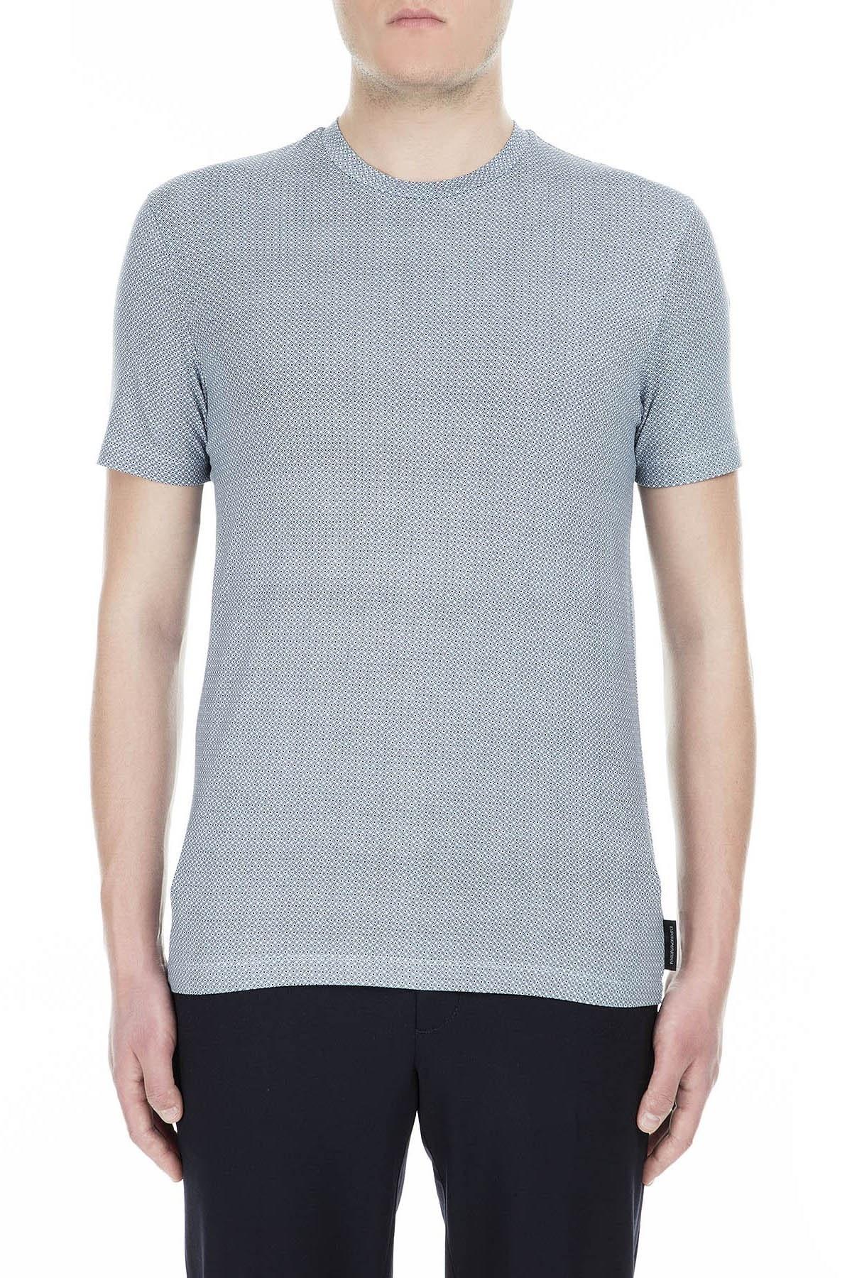 Emporio Armani Erkek T Shirt 3G1TD9 1J58Z F712 MAVİ