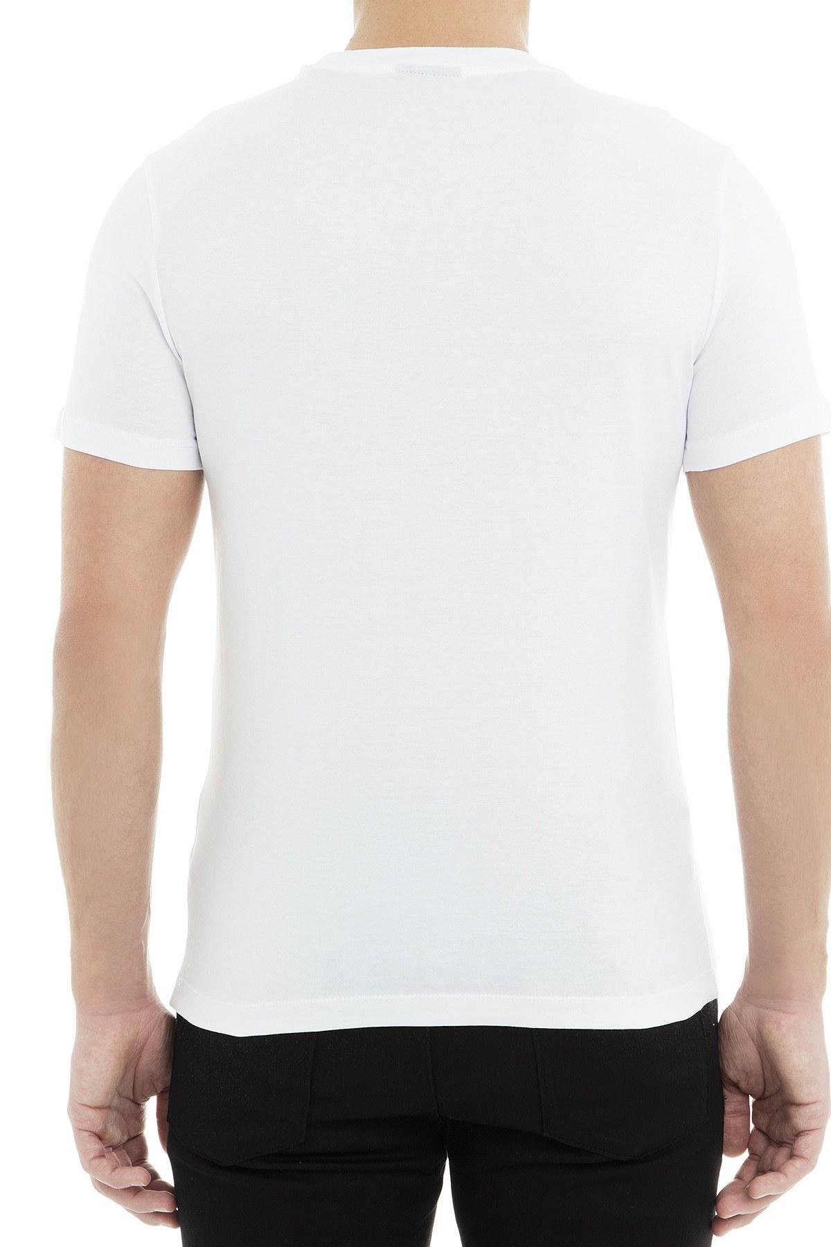 Emporio Armani Erkek T Shirt 3G1TG1 1J00Z 0137 BEYAZ