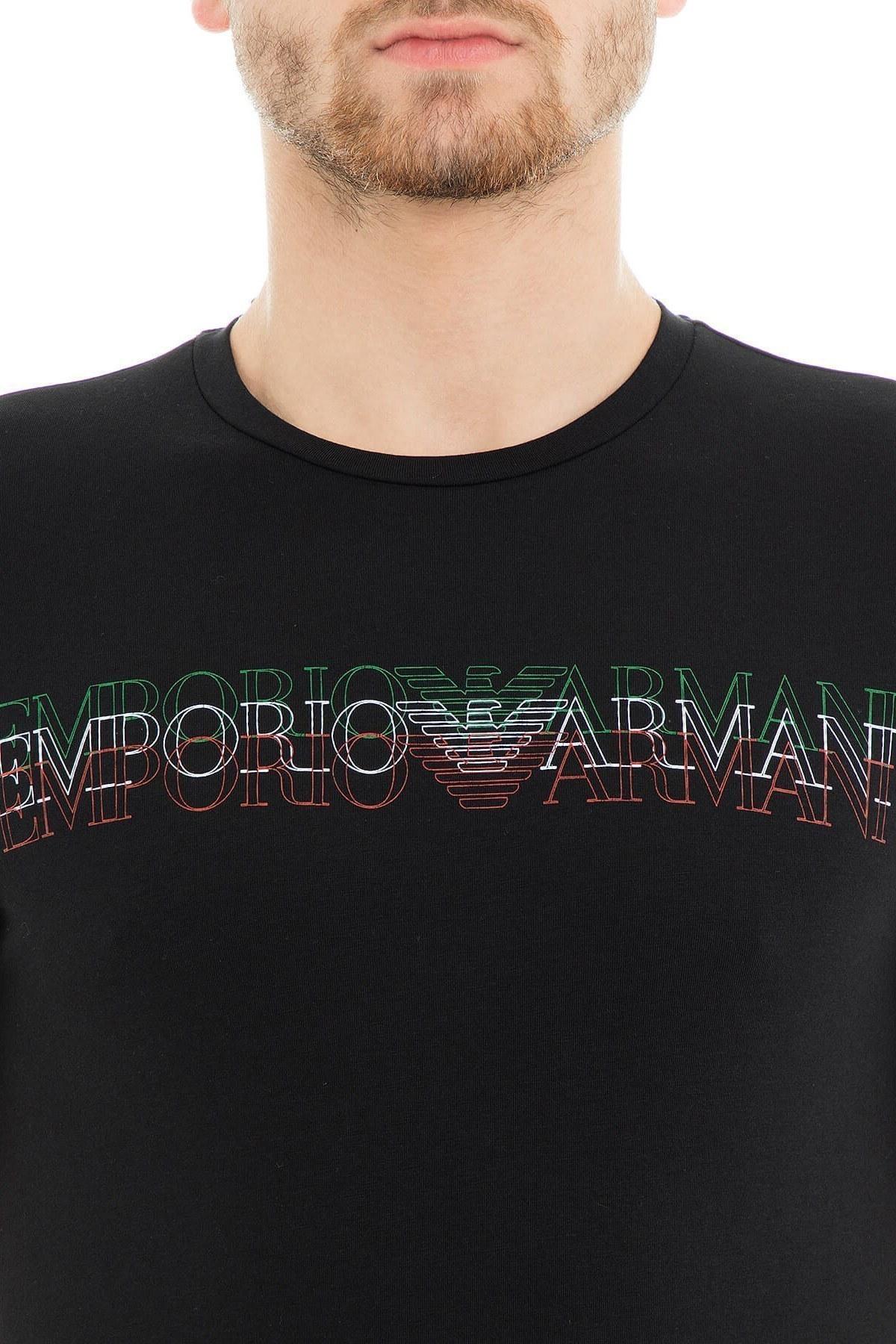 Emporio Armani Erkek T Shirt 3G1TH2 1J11Z 0999 SİYAH