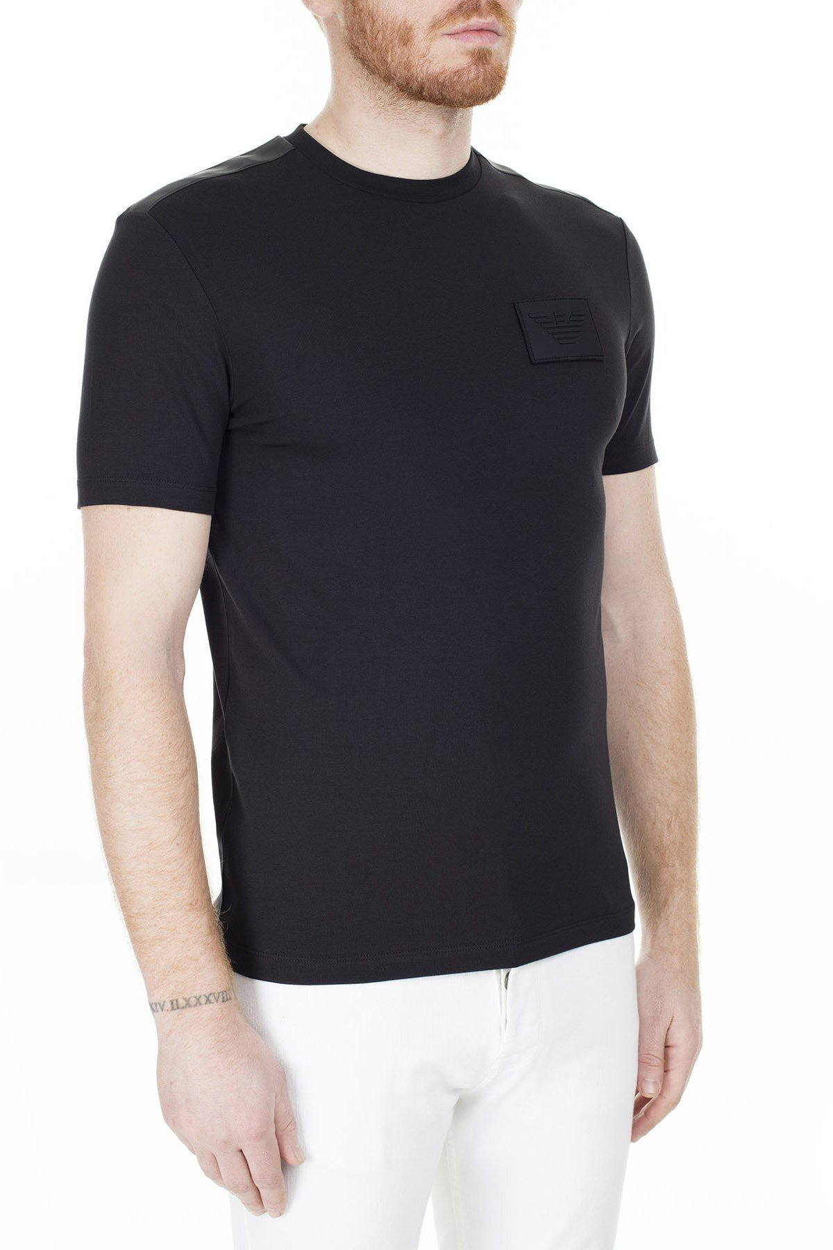 Emporio Armani Erkek T Shirt 3H1T70 1J37Z 0002 SİYAH